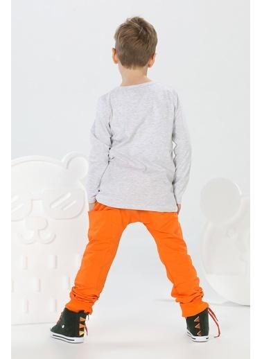 Lupiakids Rapci Monkey Harem Pantolon+T-shirt Renkli